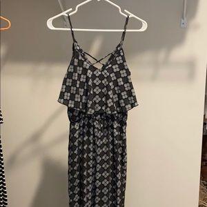 Fab'rik Black/white jumpsuit - size S.